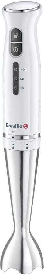 Breville White Cordless Li-ion Hand Blender