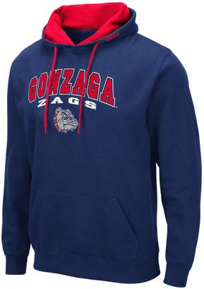 NCAA Unbranded Mens Gonzaga Bulldogs Mens Pullover Hooded Fleece