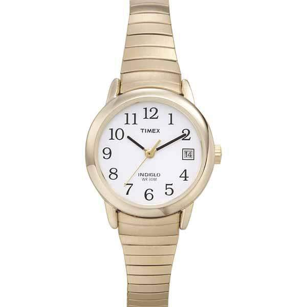 Timex Timex Women's Goldtone Stainless Steel Easy Reader Expansion Band Watch
