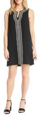Karen Kane Embroidered Sheath Dress