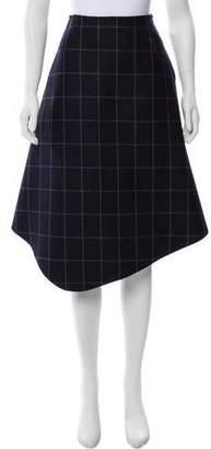 Jacquemus Wool Midi Skirt