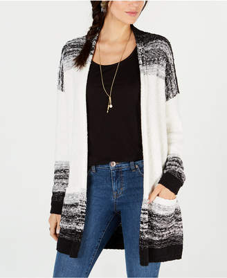 Style&Co. Style & Co. Textured Open-Front Completer Cardigan