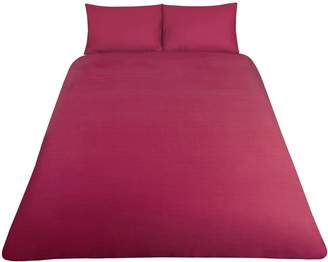 Very Non-Iron Percale 180 Thread Count Duvet Cover Set