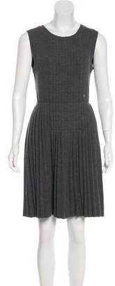 Chanel Wool Sleeveless Dress
