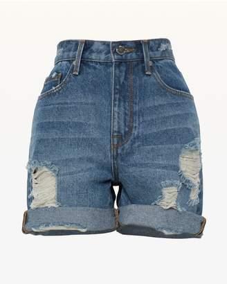 Juicy Couture JXJC Denim Bermuda Short