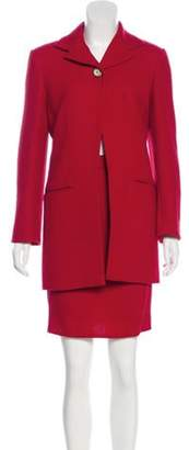 Christian Dior Wool Skirt Suit wool Wool Skirt Suit