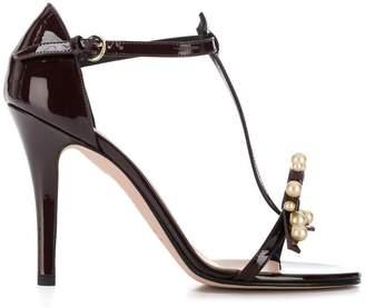 RED Valentino RED(V) embellished sandals
