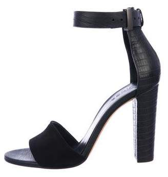 Vince Leather High-Heel Sandals