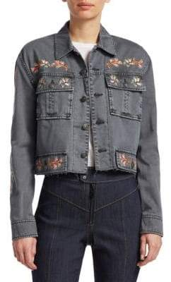 Cinq à Sept Folk Canyon Denim Jacket