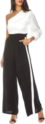 TFNC Denise One-Shoulder Jumpsuit