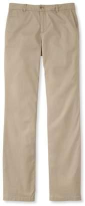 L.L. Bean L.L.Bean Washed Chinos, Straight-Leg Pants