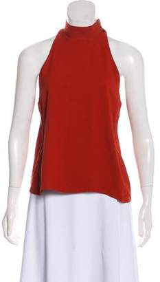 A.L.C. Mock Neck Sleeveless Top