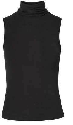 Theory Wendel Stretch-jersey Turtleneck Top - Black