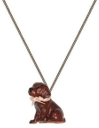 Pink Poodle Boutique Chocolate Labrador Necklace