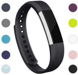 Fitbit iGK For Alta / Alta HR Bands Adjustable Replacement Wrist Bands Soft TPU Material Strap Without Tracker (Black, Large)