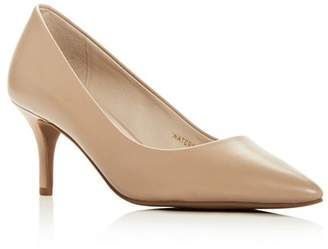 Cole Haan Women's Marta Waterproof Pointed Toe Mid-Heel Pumps