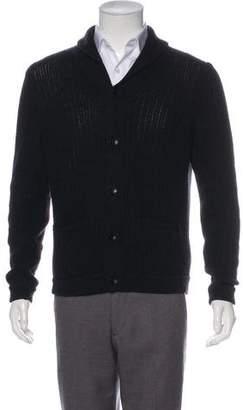 Rag & Bone Wool Rib Knit Cardigan