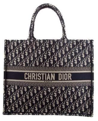 Christian Dior 2018 Oblique Book Tote
