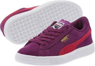 Suede Preschool Sneakers