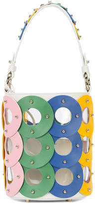 Sara Battaglia Zoe Circle Bucket bag