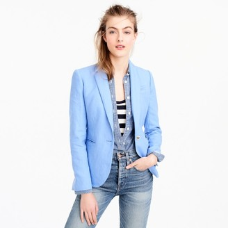 Campbell blazer in linen $168 thestylecure.com
