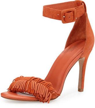 Joie Pippi Suede Fringe Sandal $285 thestylecure.com