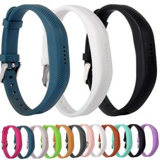 Fitbit For Flex 2 Bands Strap, Moretek Replacement Band with Stainless Steel Buckle and Fastener for Flex 2, Adjustable Accessories Bracelet & Strap