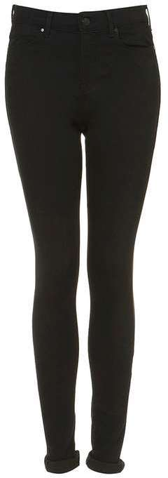Topshop Tall moto black leigh jeans