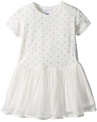 Toobydoo Sweet Anchor Tulle Dress Girl's Dress