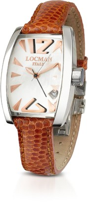 Locman Panorama Mother-of-Pearl Dial Dress Watch
