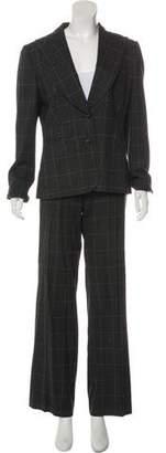 Dolce & Gabbana Printed Peak-Lapel Pantsuit