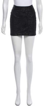 Myne Textured Mini Skirt