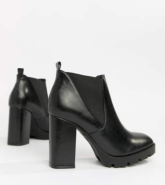 Truffle Collection Platform Ankle Boots