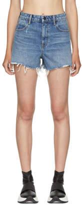 Alexander Wang Indigo Bite Shorts