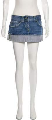 Dondup Denim Mini Skirt