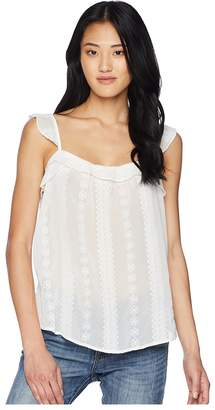 Bishop + Young Moroccan Embroidered Tank Top Women's Sleeveless
