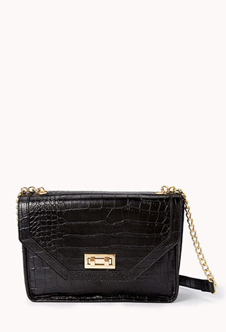 Forever 21 Luxe Boxy Crossbody