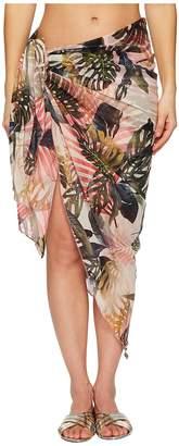 Fuzzi Pareo Wrap Women's Clothing