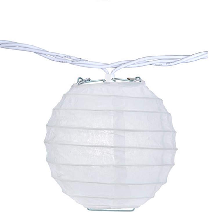 White Party Lantern String Lights