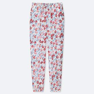 Uniqlo Women's Drape Floral Jogger Pants