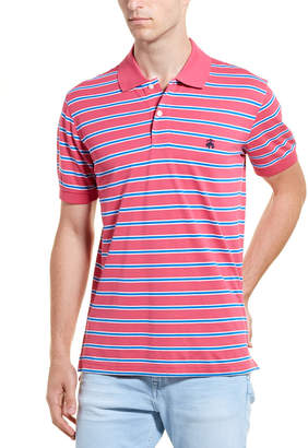 Brooks Brothers Outlined Slim Fit Polo