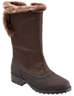 Trotters Bowen Faux Shearling Cold Weather Boots