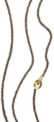 "Antonini 18K Yellow Gold Matera Chain and Diamond Necklace, 42"""