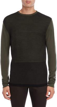 Daniel Hechter Wool Textured Long Sleeve Sweater