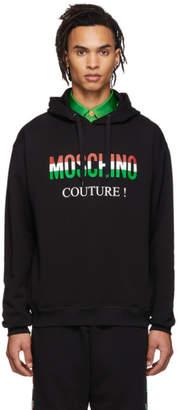 Moschino Black Italy Hoodie