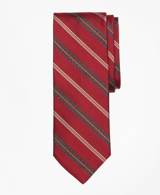 Brooks Brothers Alternating Multi-Split Stripe Tie