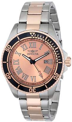 Invicta Men's 15001 Pro Diver Two-Tone Rose Gold-Plated Stainless Steel Watch