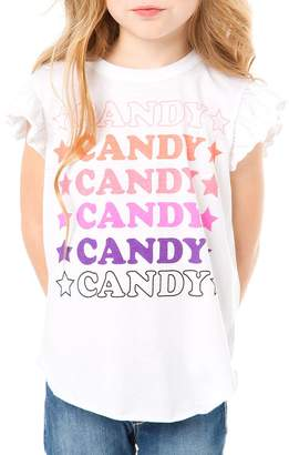 Chaser Youth Girl's Candy Star Tee
