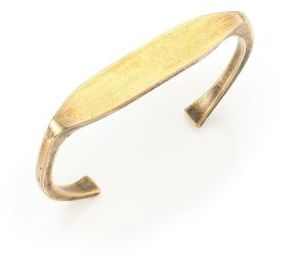 Giles & Brother Stirrup ID Bracelet $135 thestylecure.com