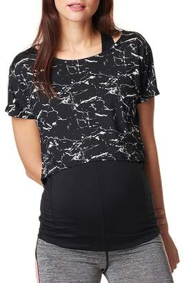 Noppies Florien Cropped Maternity Layering Tee